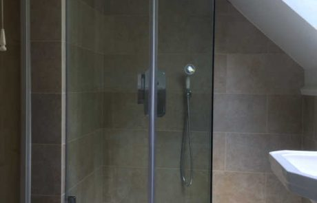 Frameless Shower Door, Loughton